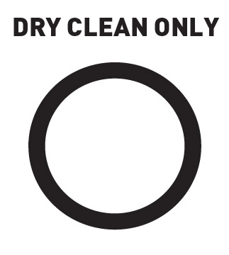 Dry Clean Only Symbol